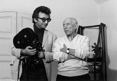 Pablo Picasso and Lucien Clergue